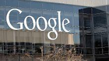 Google-Hauptsitz in Mountain View/Kalifornien.