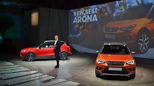 Vor 250 internationalen Journalsiten präsentierte Entwicklungschef Matthias Rabe den neuen Seat Arona.