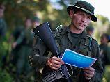 Ende des Guerillakampfs: Farc schließt Waffenübergabe an UN ab