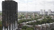 Regierung wusste von Brandgefahr: 75 überprüfte Londoner Hochhäuser sind nicht feuerfest