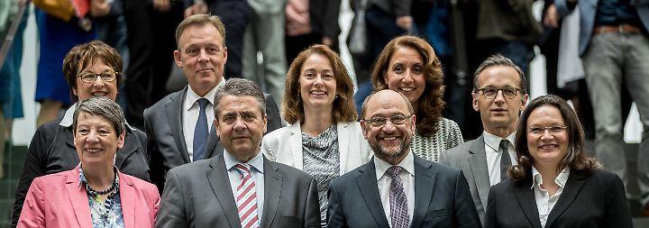"""Mindestlohn, Rente, Internetsicherheit: SPD sieht sich als """"Motor dieser Regierung"""""""
