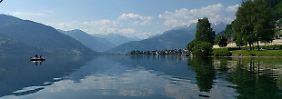 Abenteuer zu Land und Wasser: In Österreich taucht der Berg in den See