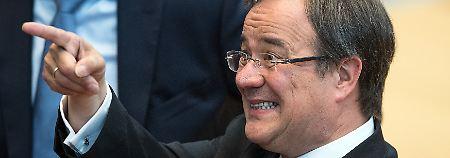 Im ersten Wahlhang gewählt: Laschet ist neuer Regierungschef  von NRW