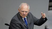 Entlastungen nach Bundestagswahl: Schäuble sieht Steuerpläne skeptisch