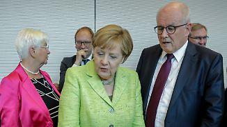 Abstimmung über Ehe für alle: Merkels Kurskorrektur löst Frust in der Union aus