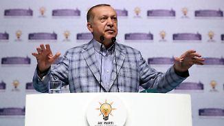 Regierung lehnt türkischen Antrag ab: Erdogan provoziert mit Auftrittsgesuch