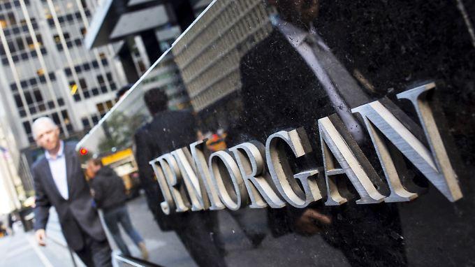JP Morgan hat im ersten Quartal fast neun Milliarden Dollar verdient.