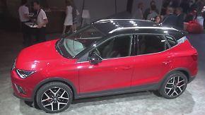 Kleiner Bruder des Ateca: So sieht das neue SUV Arona von Seat aus