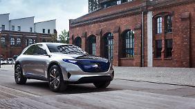 Auch Daimler plant eine Elektrooffensive.