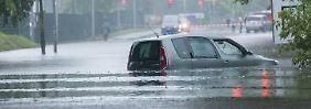 Ganzes Haus in Berlin unterspült: Wassermassen fluten die Hauptstadt