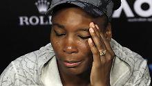 Unglück kurz vor Wimbledon: Venus Williams verursacht tödlichen Unfall