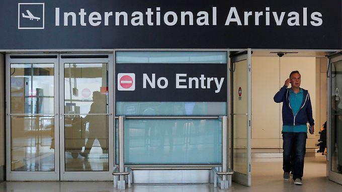 Die Bürger einiger Länder dürfen nun nicht mehr in die Vereinigten Staaten einreisen.