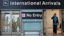 Trumps Einreisebann in Kraft: USA sperren Menschen nach Herkunft aus