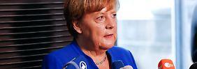 """Angela Merkel erklärt ihr Nein: """"Für mich ist die Ehe im Grundgesetz die Ehe von Mann und Frau"""""""