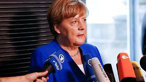 """Angela Merkel erklärt ihr Nein: """"Ehe im Grundgesetz ist die Ehe von Mann und Frau"""""""