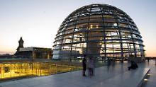 Berliner Wahrzeichen gesperrt: Reichstag schließt vorübergehend die Kuppel