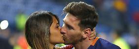 Megahochzeit in Rosario: Messi heiratet seine Jugendliebe
