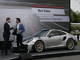 Beim Festival Of Speed in Goodwood präsentiert Porsche sein neues Sportgerät den GT2 RS.