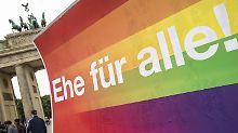 AfD prüft Klage: De Maizière: Ehe für alle verfassungswidrig