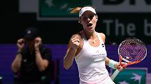 """Wimbledon zum Wohlfühlen?: Kerber pusht sich mit """"Williams-Video"""""""