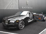 Für eine junge Kundshaft hat Rolls Royce die dunkle Seite herausgekehrt.