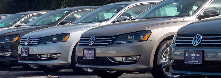 US-Automarkt im Abschwung: Ford und GM schwächeln, VW legt zu