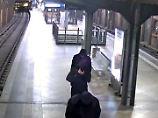 Die drei Vermummten Diebe am S-Bahnhof Hackescher Markt