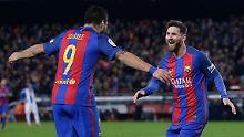 Der Sport-Tag: FC Barcelona wendet Messi-Super-Gau ab