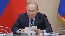Putin gibt Merkel Rückendeckung: Russland stützt deutsche G20-Prioritäten