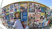 Wo, wann, was, wie viel?: Das gilt für Wahlplakate
