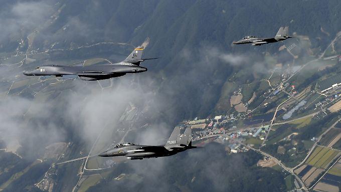 """Die USA wollen den Druck auf Nordkorea """"kalkuliert"""" erhöhen."""