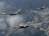 Auch 2016 schickten die USA als Reaktion auf einen Atombombentest Langstreckenbomber nach Südkorea.