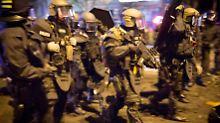 Überfordert und fehlgeplant?: Polizei verteidigt ihre G20-Taktik