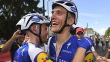Marcel Kittel hat bei der Tour de France in diesem Jahr gut Lachen.