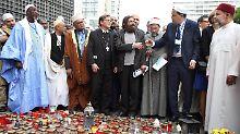 Zeichen gegen Terrorismus: Imame besuchen Berliner Breitscheidplatz