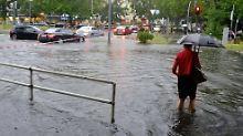 Bis zu 60 Liter Regen in Berlin: Die Woche bringt weitere Unwetter