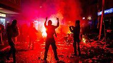 Der Bund Deutscher Kriminalbeamter hatte vor dem G20-Gipfel in Hamburg vor linksorientierter Gewaltbereitschaft gewarnt.