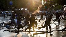 Skurrile Polizeistatistik: Verfassungschutz sah G20-Gewalt kommen