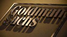 Geparktes Geld wird teuer: Steuerreform drückt Goldman-Sachs-Gewinn