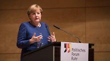 Rede in Essen: Merkel gibt TTIP noch nicht auf