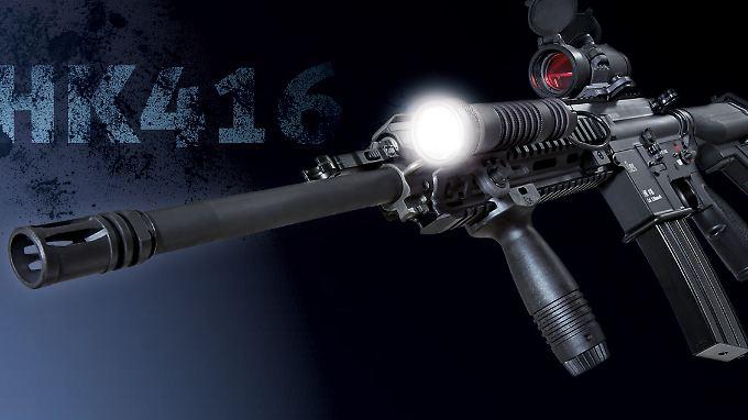 Werbung von Heckler & Koch für das HK 416