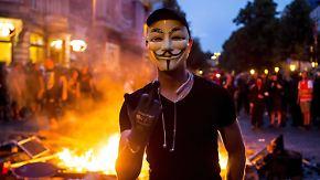 """""""Keine konkreten Anhaltspunkte"""": Polizei lässt G20-Randalierer frei"""