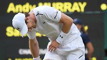 Favoritensterben in Wimbledon: Murray und Djokovic fliegen raus