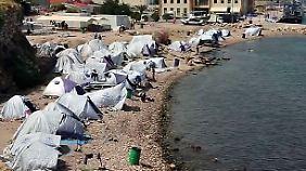Alleingelassen im griechischen Elend: Behörden verzweifeln an Flüchtlingsversorgung