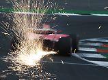 Regentraining in Silverstone: Hamilton setzt letzte Bestzeit vor Vettel