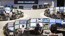 Der Börsen-Tag: Dax zum Mittag im Plus: Anleger wetten auf lockere EZB