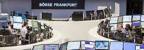 Der Börsen-Tag: 18:03 Dax gibt Tagesgewinne ab - Euro drückt
