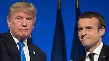 """""""Der große Abwesende"""": Pariser Klimagipfel beginnt - ohne Trump"""