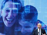 Der SPD-Zukunftsplan zur Wahl: Martin Schulz schaut in die Glaskugel