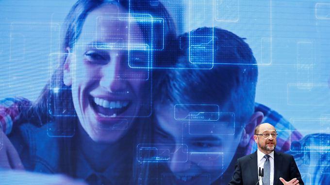 """""""Die Menschen in Deutschland sind ihrem Staat oft voraus"""", sagt Martin Schulz - und entwirft eine Vision für die Zukunft."""